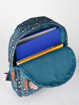 Rugzak Attitude 1 Compartiment Kidzroom Blauw attittude 1550-vue-porte
