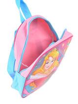 Rugzak Mini Disney Roze princess AST4091-vue-porte