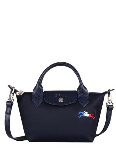 Longchamp Le pliage trÈs paris Sac porté main Bleu