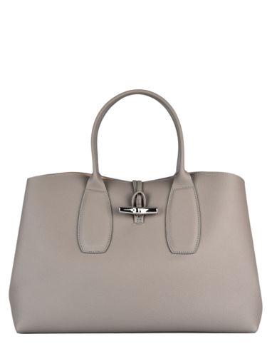 Longchamp Roseau Handtas Grijs