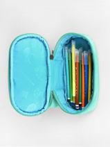 Pennenzak 1 Compartiment Pencil Case Affenzahn Groen pencil case PEN1-vue-porte