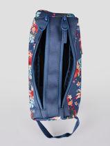 Pennenzak 2 Compartimenten Rip curl Blauw havana floral LUTLD1HF-vue-porte