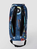 Trousse 2 Compartiments Rip curl Bleu surfboard collection BUTBA3SS-vue-porte