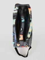 Trousse 2 Compartiments Rip curl Noir surfboard collection BUTBA3SC-vue-porte