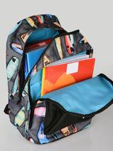 Sac à Dos 2 Compartiments Rip curl Noir surfboard collection BBPCB3SC-vue-porte
