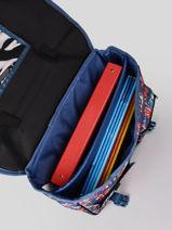 Cartable 2 Compartiments Rip curl Bleu havana floral LBPQF1HF-vue-porte