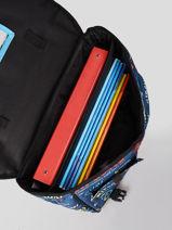 Cartable 2 Compartiments Rip curl Bleu surfboard collection BBPCI3SS-vue-porte