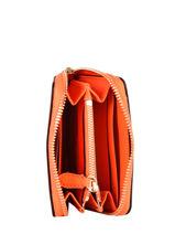 Portemonnee Leder Lauren ralph lauren Oranje dryden 32824898-vue-porte