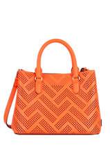 Handtas Dryden Leder Lauren ralph lauren Oranje dryden 31824872
