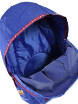 Rugzak 1 Compartiment Fc barcelone Blauw we are 490-8119-vue-porte
