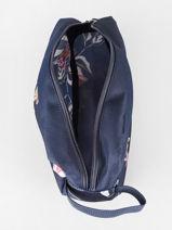 Trousse De Toilette Roxy Bleu luggage RJBL3241-vue-porte