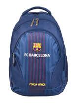 Sac A Dos 2 Compartiments Fc barcelone Bleu fc barcelona BARCELON