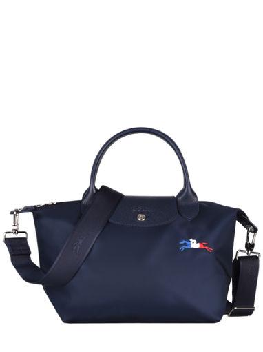 Longchamp Le pliage trÈs paris Handtas Blauw