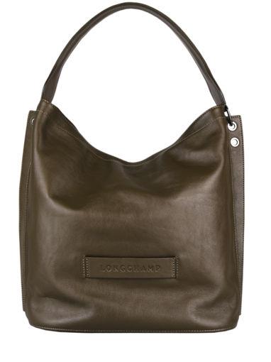 Longchamp Longchamp 3d zip Besace Vert