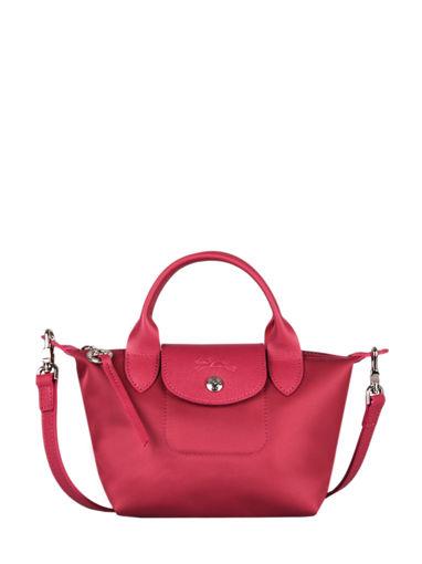 Longchamp Le pliage neo Sac porté main Rouge