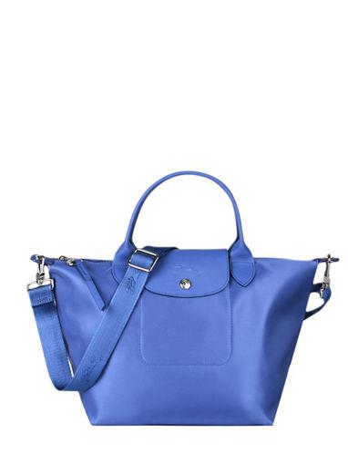Longchamp Le pliage neo Sac porté main Bleu
