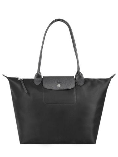 Longchamp Le pliage neo Besace Noir