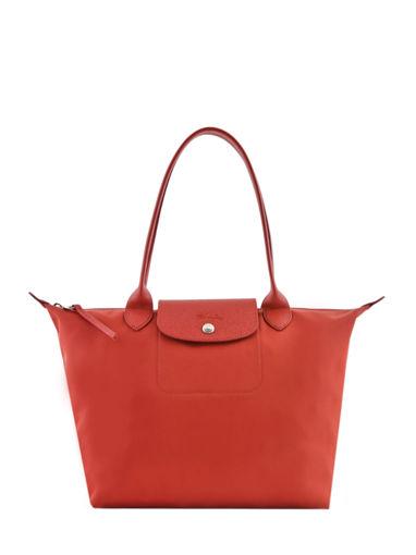 Longchamp Le pliage neo Besace Rouge