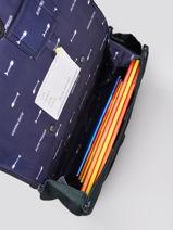 Boekentas It Bag Mini Boy 2 Compartimenten Jeune premier Zilver daydream boys B-vue-porte