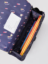 Boekentas It Bag Mini Girl 2 Compartimenten Jeune premier Goud daydream girls G-vue-porte