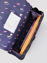 Cartable It Bag Mini Girl 2 Compartiments Jeune premier Or daydream girls G-vue-porte