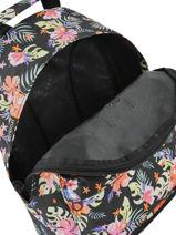 Sac à Dos Toucan Flora Rip curl Noir toucan flora LBPRC4-vue-porte