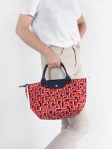 Longchamp Le pliage lgp Sac porté main Rouge-vue-porte