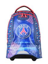 Sac A Dos A Roulettes 2 Compartiments Paris st germain Blauw ici c