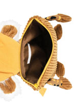 Mini Rugzak Globe Trotoys Les deglingos Bruin globe trotoys 350-vue-porte