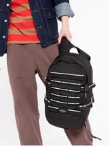 Sac à Dos Floid Tact 1 Compartiment Eastpak Noir core series K24F-vue-porte