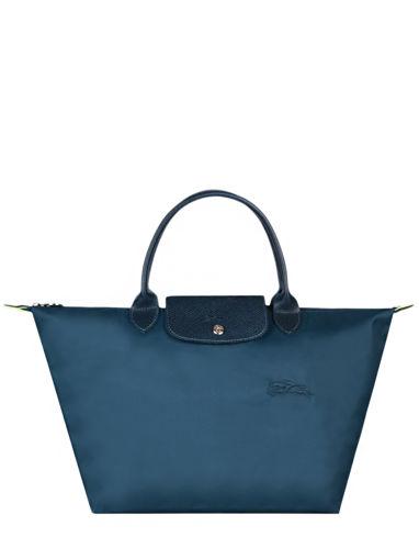 Longchamp Le pliage green Sac porté main Bleu