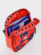 Sac A Dos 1 Compartiment Miraculous Rood red 4092104-vue-porte