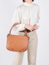 Sac Shopping Confort Cuir Hexagona Marron confort 466565-vue-porte