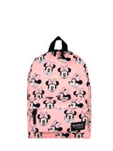 Sac A Dos 1 Compartiment Mickey and minnie mouse Roze fashion 1784