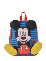 Sac à Dos Mini Mickey Mickey Bleu stripe MICNI03
