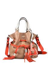 Bucket Bag S Premier Flirt Leder Lancel Oranje premier flirt A10530