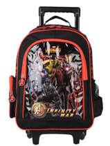 Rugzak Op Wieltjes Avengers Zwart loris 103586IW