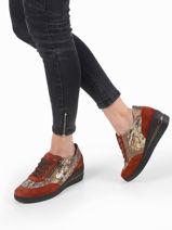 Patrizia sneakers uit leder-MEPHISTO-vue-porte