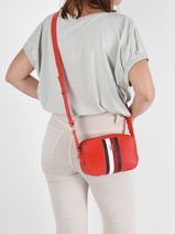 Sac Bandouliere Th Essence Tommy hilfiger Rouge th essence AW10229-vue-porte