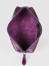 Pennenzak Metallic Leder Milano Violet river RI151101-vue-porte