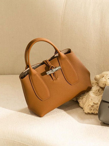 Longchamp Roseau Sac porté main Marron