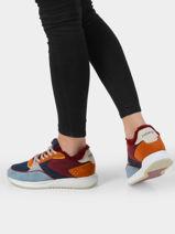 Sneakers red square-HOFF-vue-porte