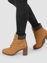 Bottines allington 6 in boot wheat en cuir-TIMBERLAND-vue-porte