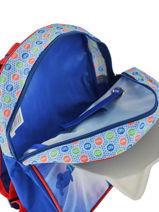 Rugzak Mini Pjmasks Blauw 3d - 98347PJM-vue-porte