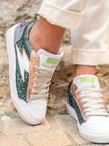 Sneakers elise en cuir-SEMERDJIAN