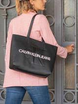 Cabas Denim Calvin klein jeans Noir denim K607200