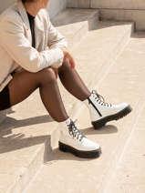 Boots jadon semelles compensées cuir-DR MARTENS