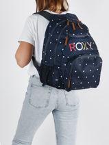 Sac à Dos 2 Compartiments Roxy back to school RJBP4367-vue-porte