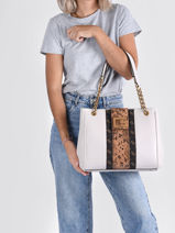 Sac Shopping Bling Guess Blanc bling SB798423-vue-porte