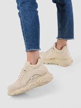 Sneakers cld corin cream-BUFFALO-vue-porte